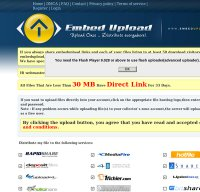 embedupload.com screenshot