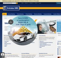 emiratesnbd.com screenshot