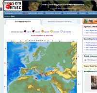emsc-csem.org screenshot