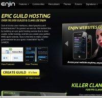 enjin.com screenshot