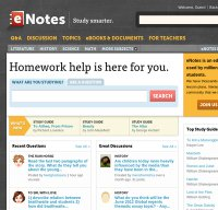 enotes.com screenshot