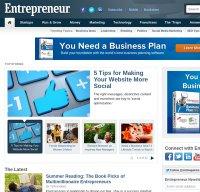 entrepreneur.com screenshot