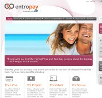 entropay.com screenshot