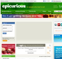 epicurious.com screenshot
