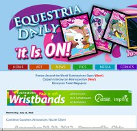 equestriadaily.com screenshot