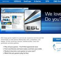 esl.eu screenshot