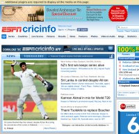 espncricinfo.com screenshot