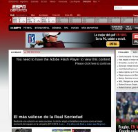 espndeportes.com screenshot