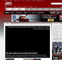 espndeportes.com screenshot
