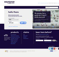 esurance.com screenshot