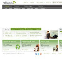 etisalat.ae screenshot