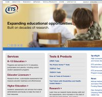 ets.org screenshot