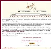etymonline.com screenshot