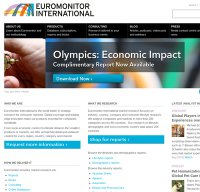 euromonitor.com screenshot