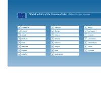 europa.eu screenshot