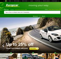 europcar.com screenshot
