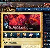 euw.leagueoflegends.com screenshot
