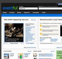 eventful.com screenshot