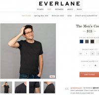 everlane.com screenshot