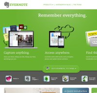 evernote.com screenshot