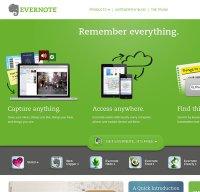 evernote.com screenshot