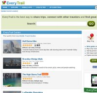 everytrail.com screenshot