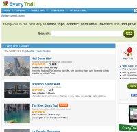 everytrail.com screenshot