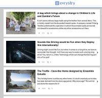 evrystry.com screenshot