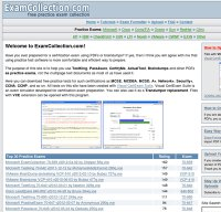 examcollection.com screenshot