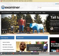 examiner.com screenshot