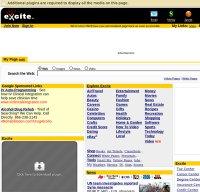 excite.com screenshot