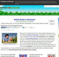 expatforum.com screenshot