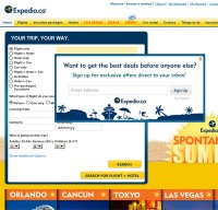 expedia.ca screenshot
