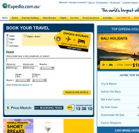 expedia.com.au screenshot