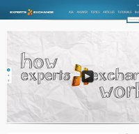 experts-exchange.com screenshot