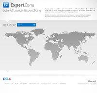 expertzone.microsoft.com screenshot