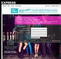 express.com screenshot