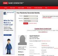 fakenamegenerator.com screenshot