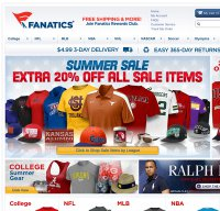 fanatics.com screenshot