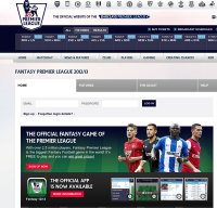 fantasy.premierleague.com screenshot