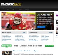 fantasypros.com screenshot
