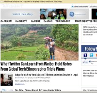 fastcompany.com screenshot