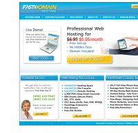 fastdomain.com screenshot