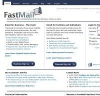 fastmail.fm screenshot