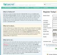 fatsecret.com screenshot