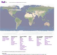 fedex.com screenshot