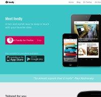 feedly.com screenshot