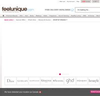 feelunique.com screenshot