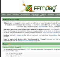 ffmpeg.org screenshot