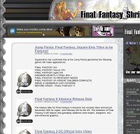 ffshrine.org screenshot